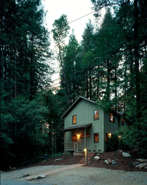 mayfield architects redwood cabin mount hermon